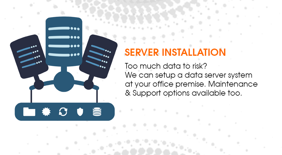 Setup your own server room at your office